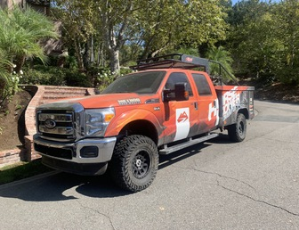 For Sale:2012 F-350 Chase Truck