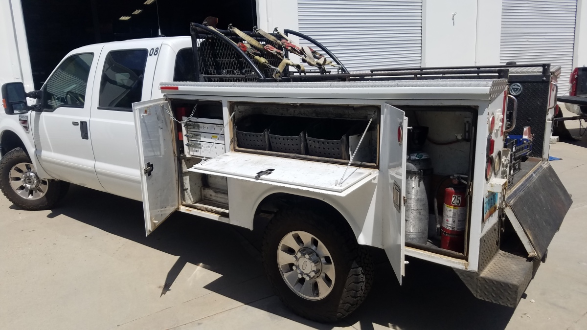 For Sale: 6.4 liter 4X4 POWERSTROKE DIESEL F350 Superduty Lariat Crew Cab  Chase  - photo1
