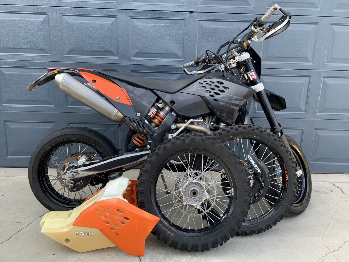 For Sale: 2008 KTM 530 EXC dual sport and supermoto - photo0