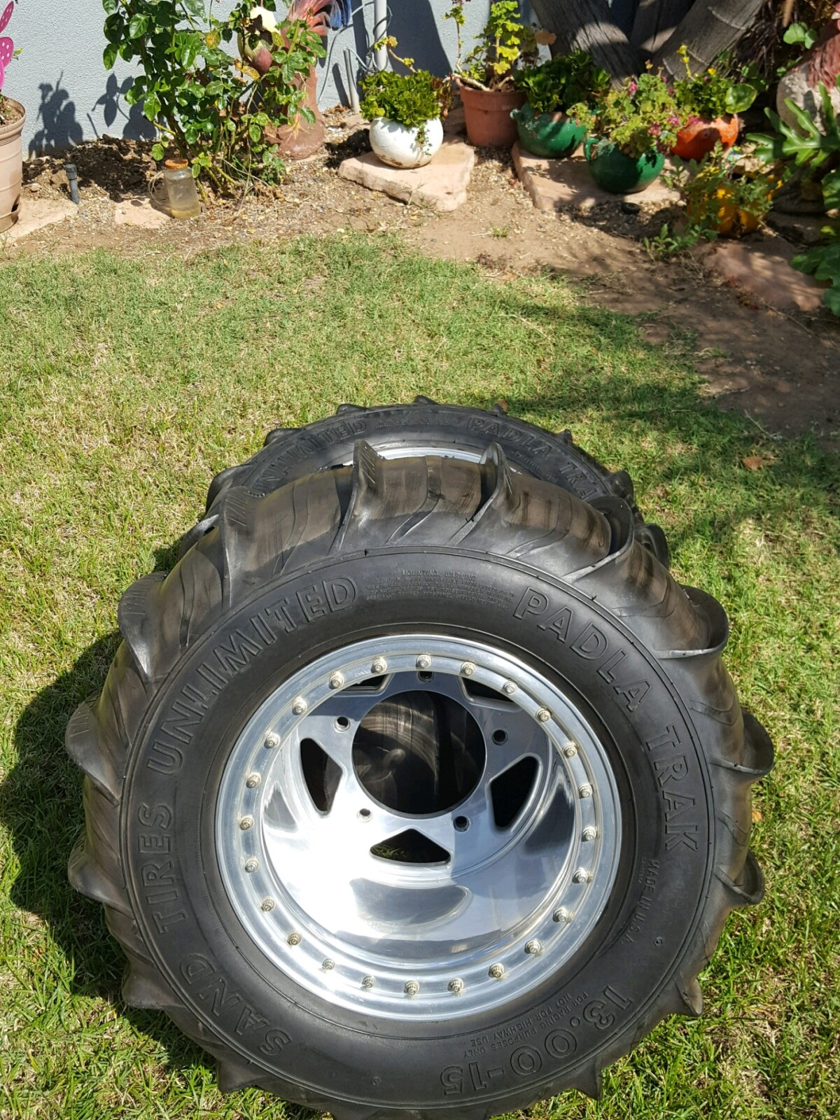 For Sale: Paddle Tires on Douglas Beadlocks - photo0