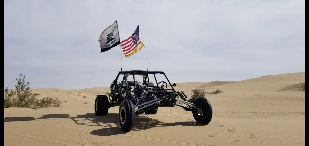 For Sale: Twisted Tin Sand Car - photo0
