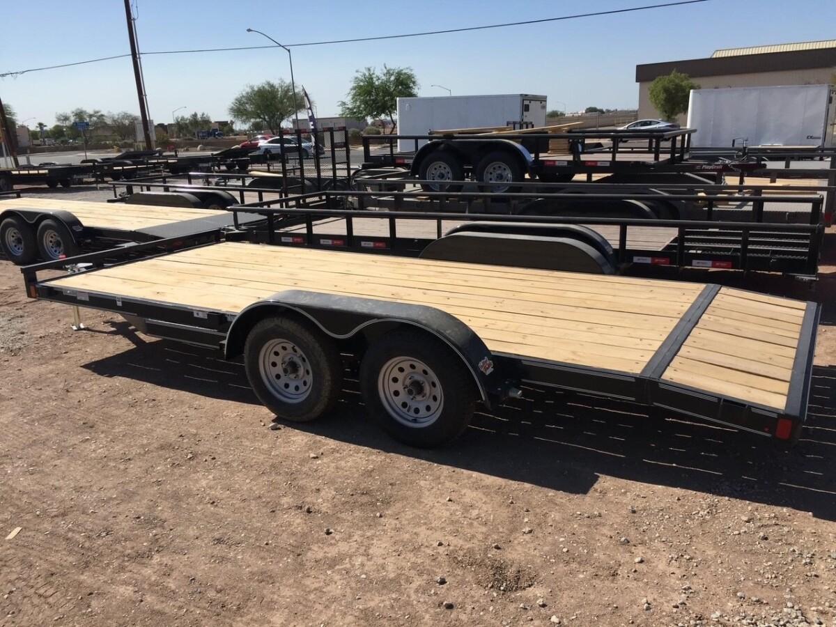 For Sale: 16-ft Trailer-Car Hauler 7,000 lbs - photo0