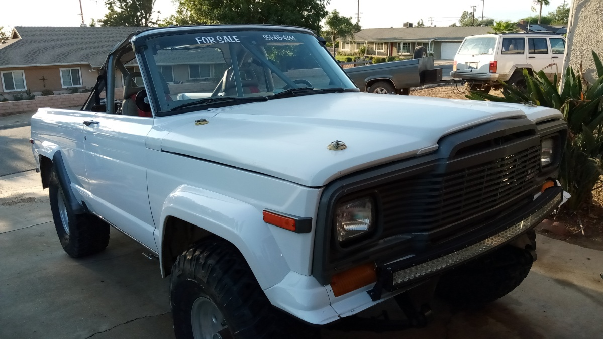 For Sale: Jeep Cherokee PreRunner - photo1