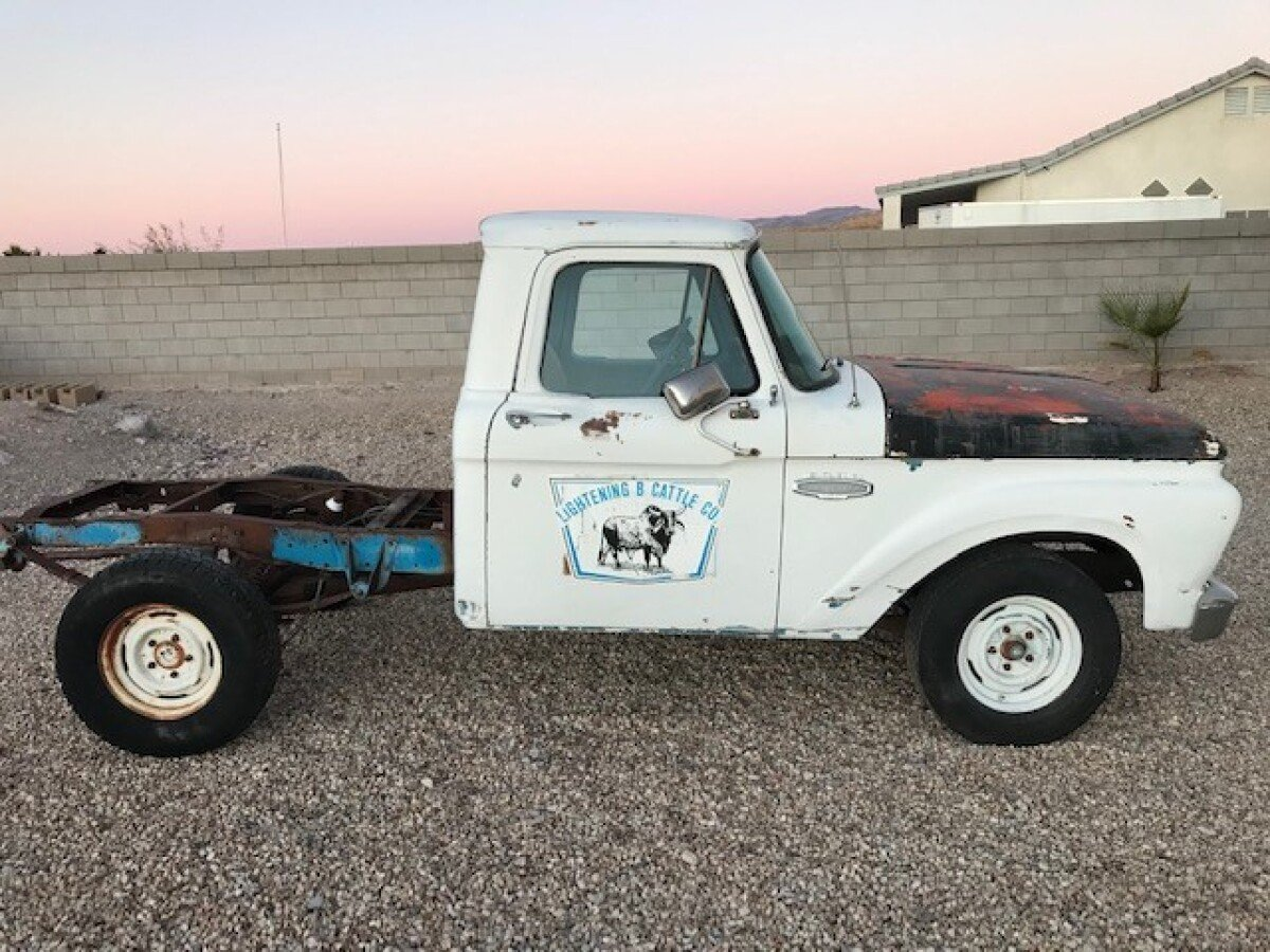 For Sale: 1966 FORD F100 SWB PARTS TRUCK  - photo0