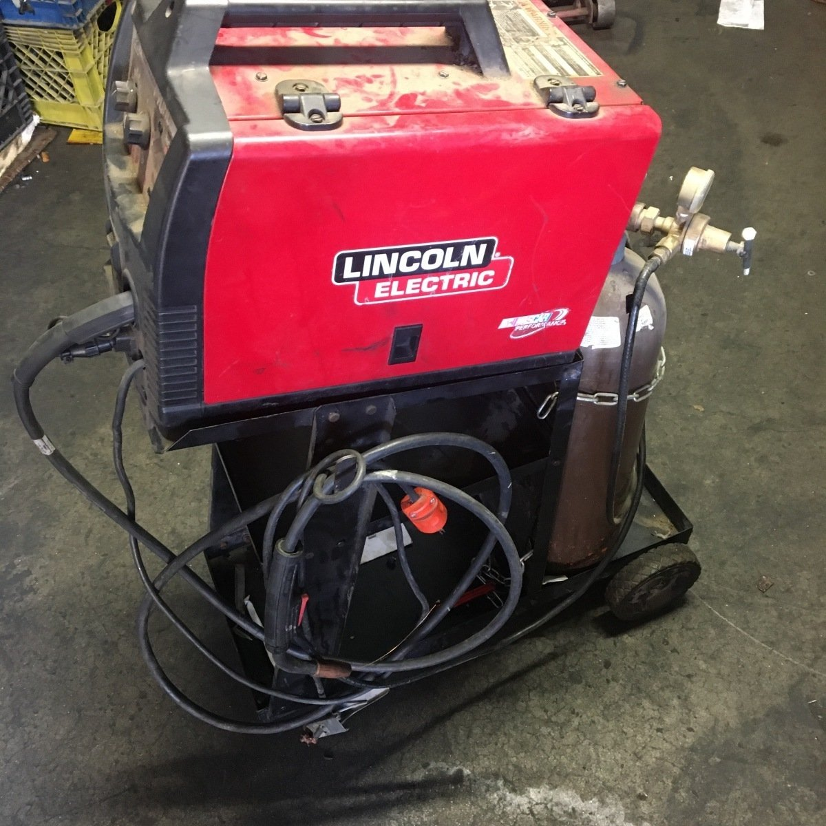 For Sale: LINCOLN 140HD WELDER - photo0