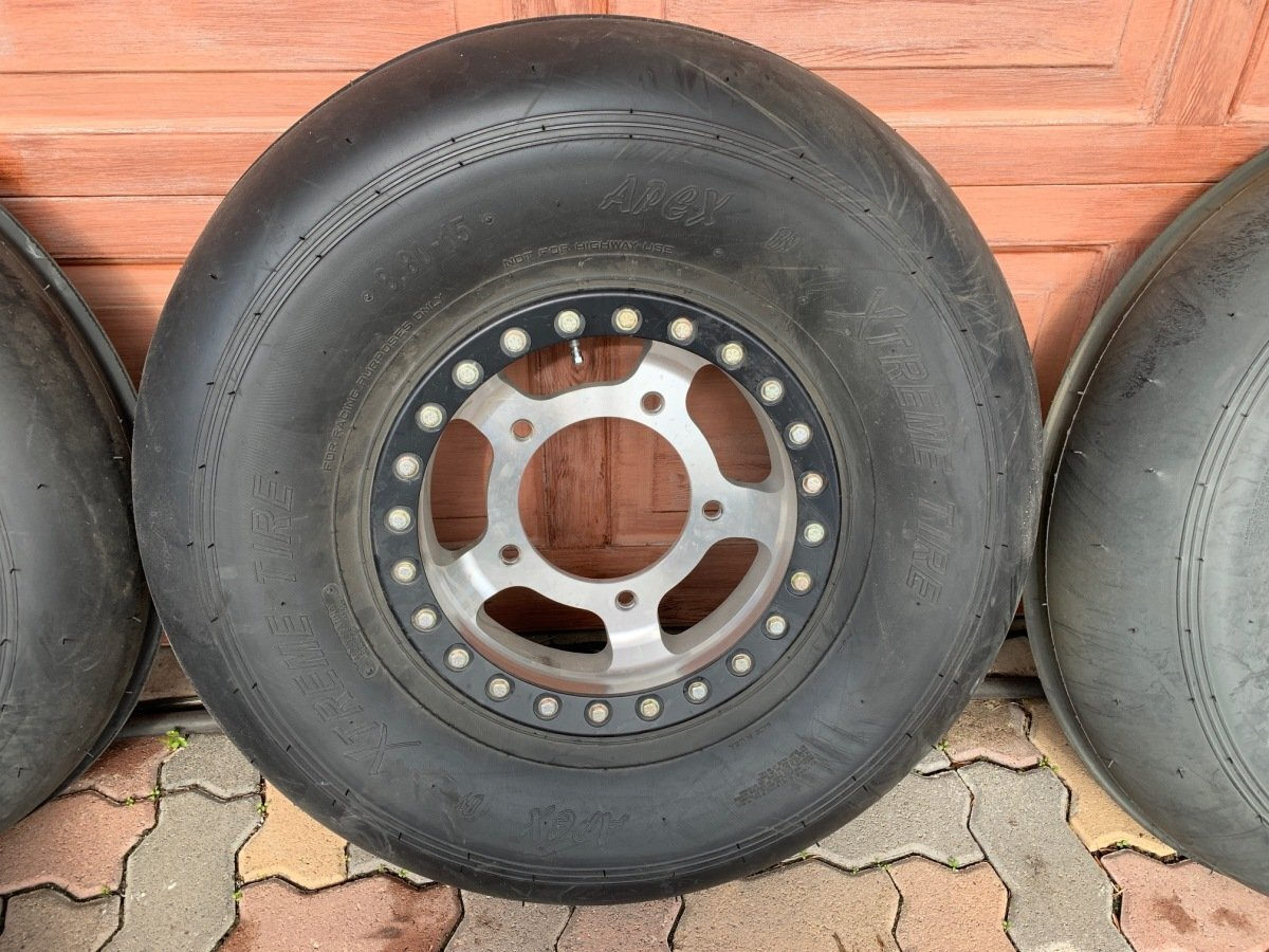 For Sale: New beadlock wheels and sand tires plus full spare - photo2
