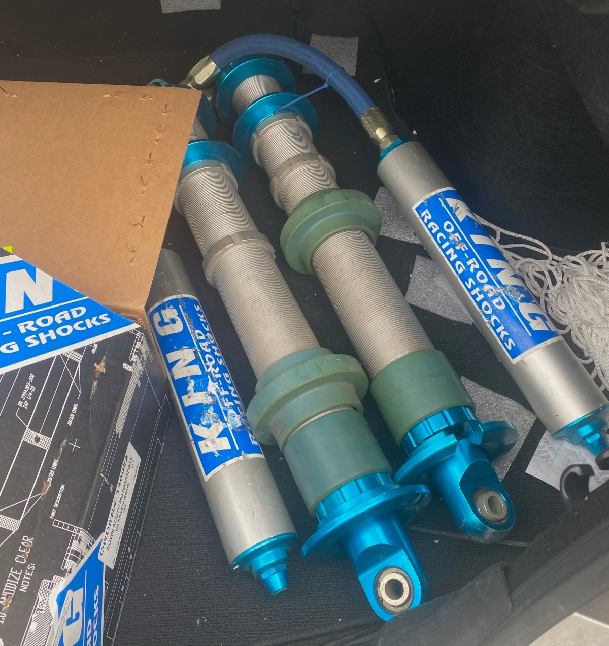 """For Sale: 3.0x18"""" king race series coilovers  - photo0"""