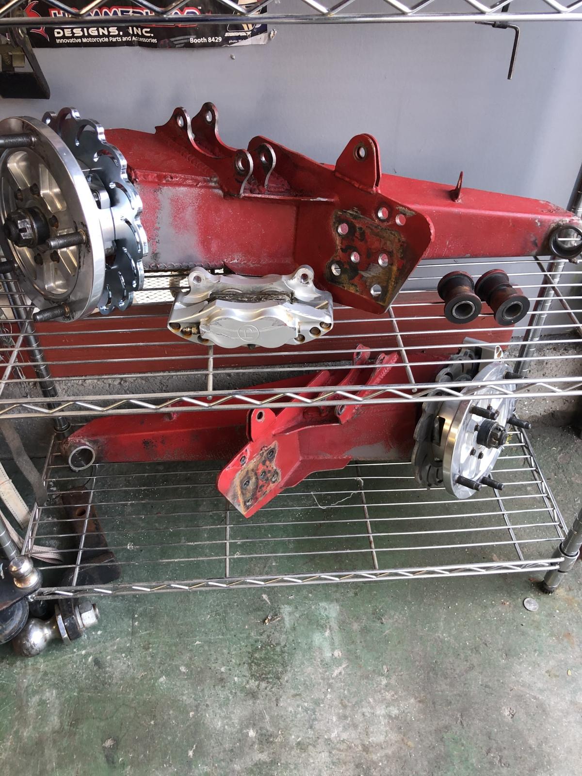 For Sale: 3x3 chromoly Buggy / Baja arms  - photo0