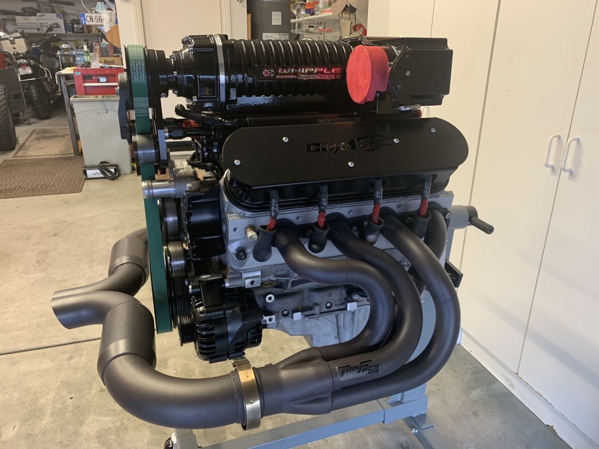 For Sale: 750 hp GM LS2 Stroker Supercharged Engine. - photo6