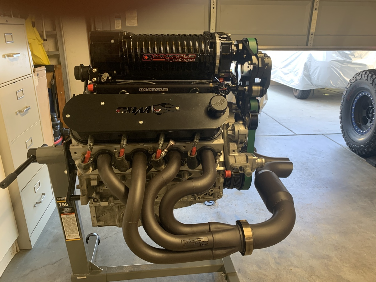For Sale: 750 hp GM LS2 Stroker Supercharged Engine. - photo7