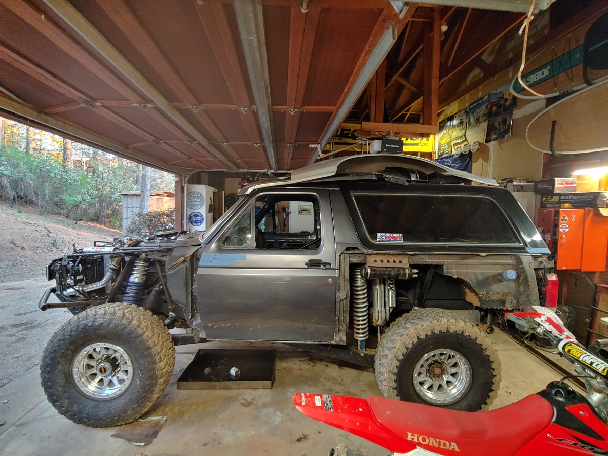 For Sale: 95% done Bronco  - photo0