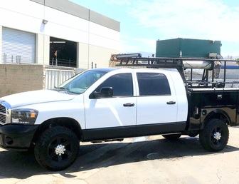 For Sale:REDUCED 2008 Dodge 2500 4x4 MegaCab Chase Truck