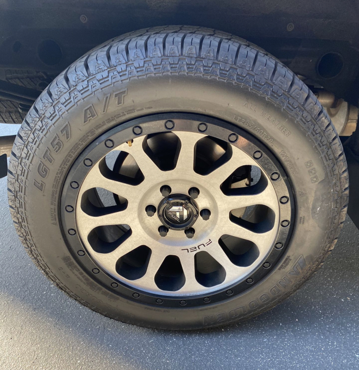 """For Sale: 20"""" Fuel Wheels With Tires NEW - photo0"""