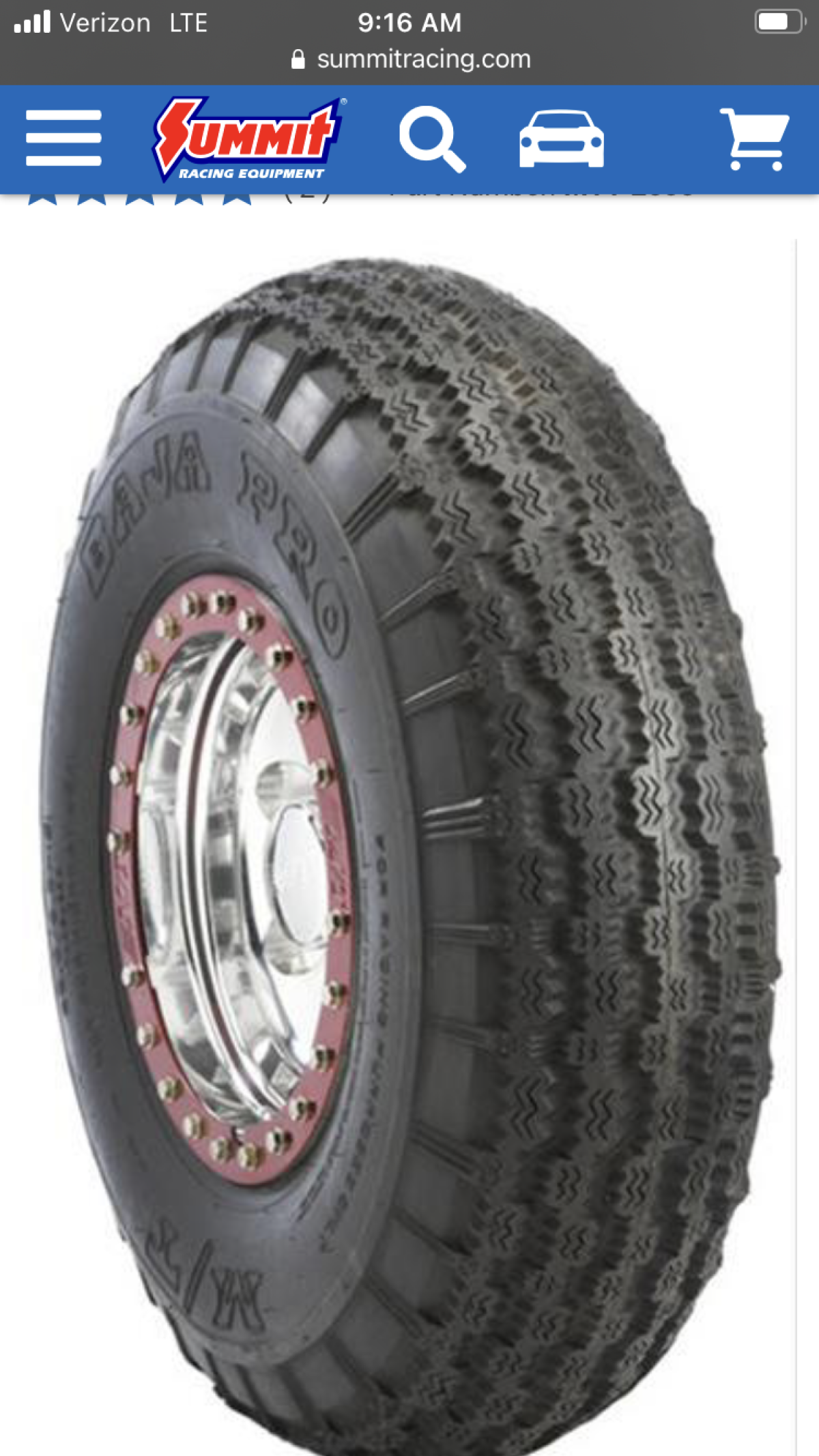 For Sale: Wanted!! 2 35 Mickey Thompson Baja pro m/t - photo0