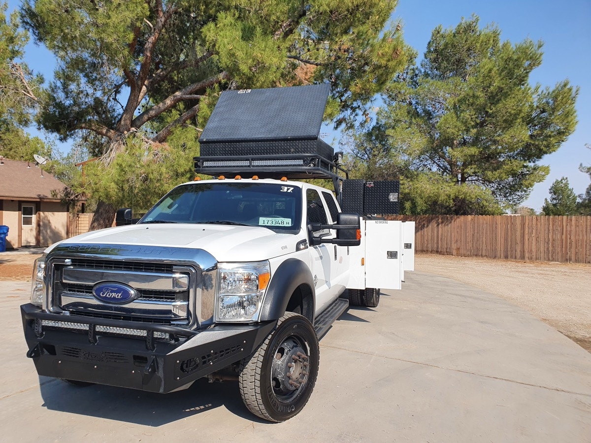 For Sale: 2015 Ford F-550 Crew Cab Chase Truck - photo14