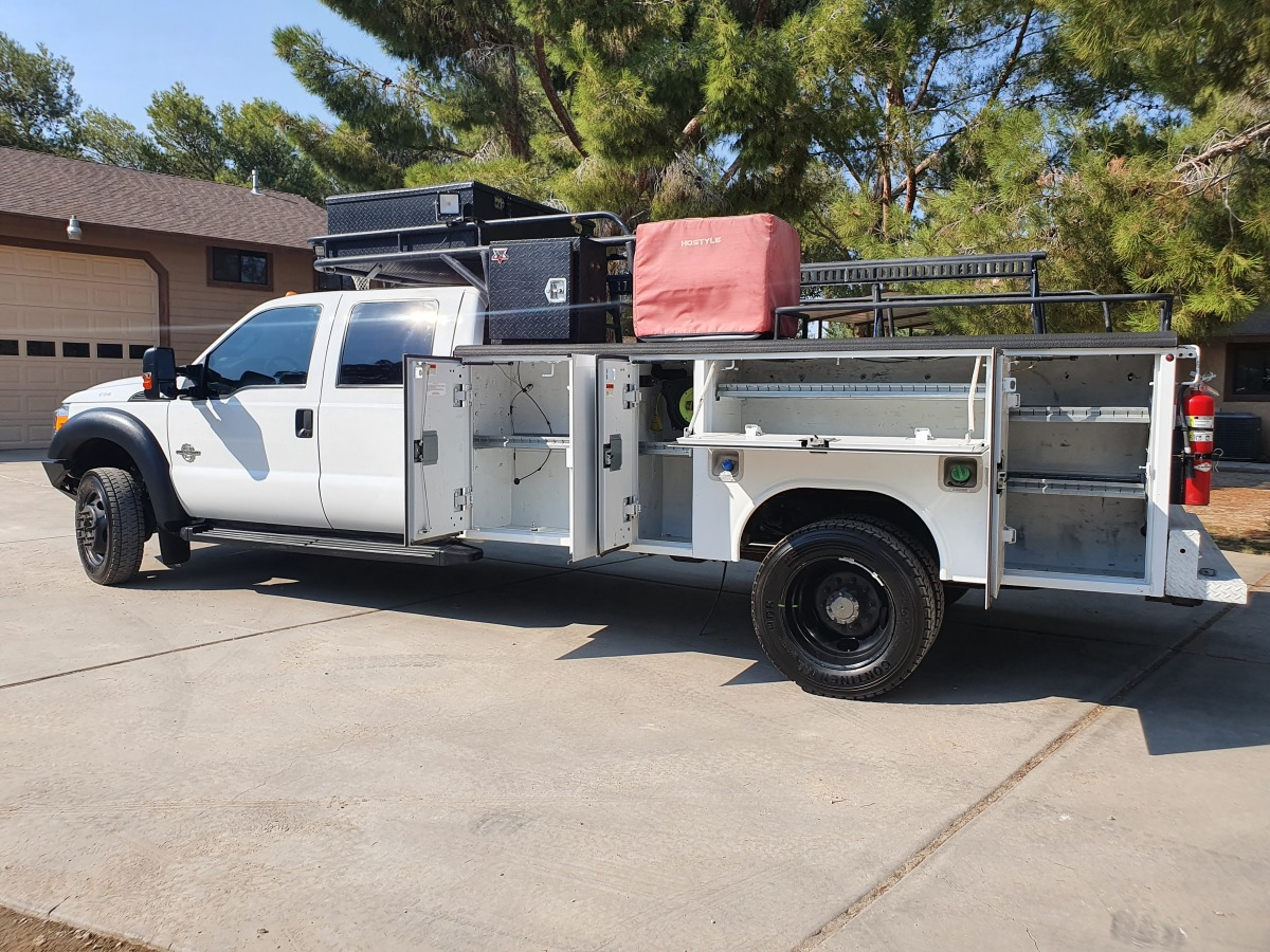 For Sale: 2015 Ford F-550 Crew Cab Chase Truck - photo10