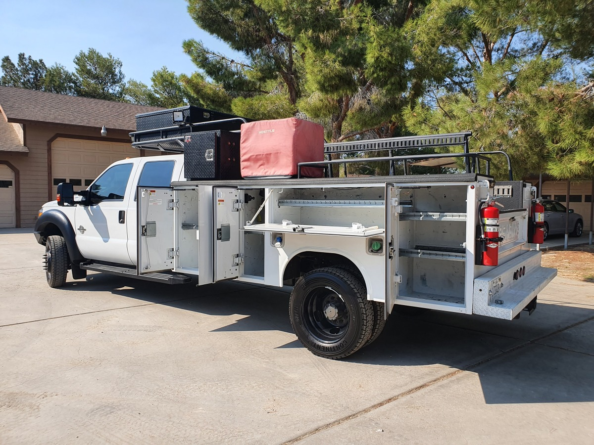 For Sale: 2015 Ford F-550 Crew Cab Chase Truck - photo8