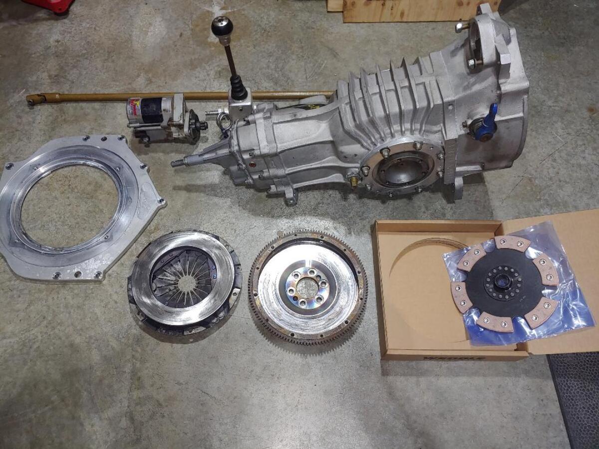 For Sale: Mendeola MD4S complete transmission set-up - photo0
