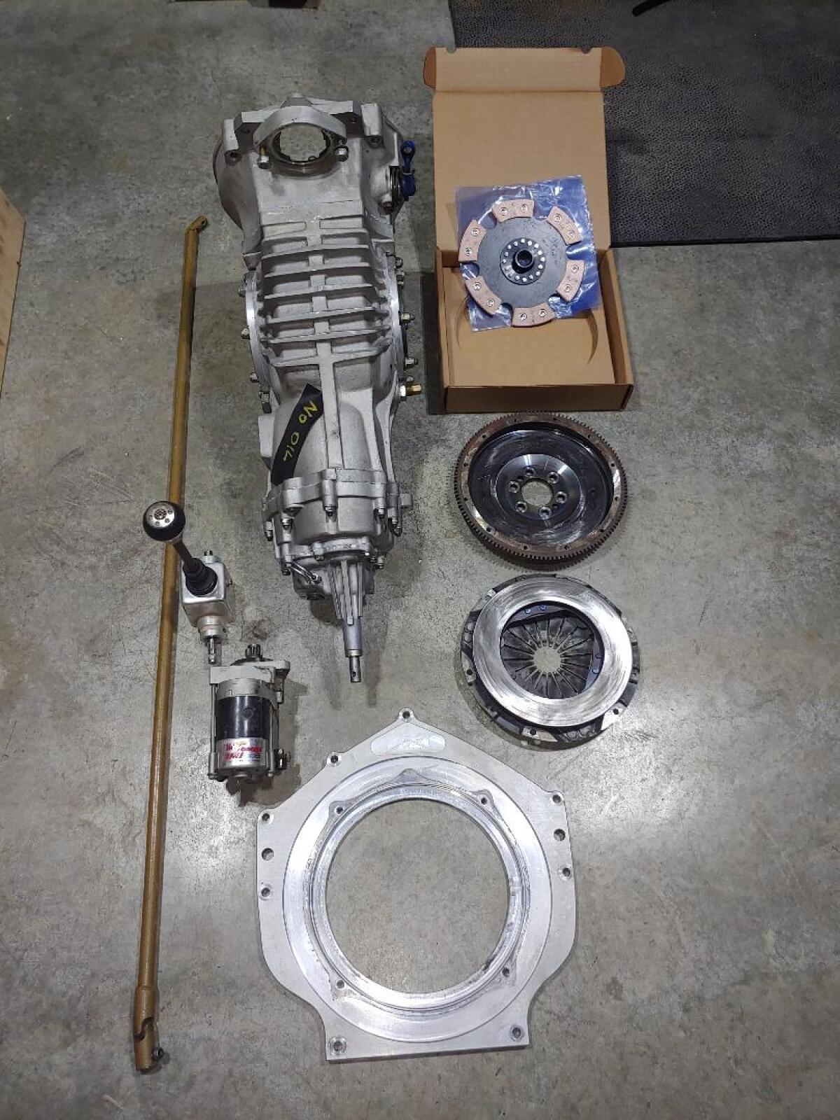 For Sale: Mendeola MD4S complete transmission set-up - photo1