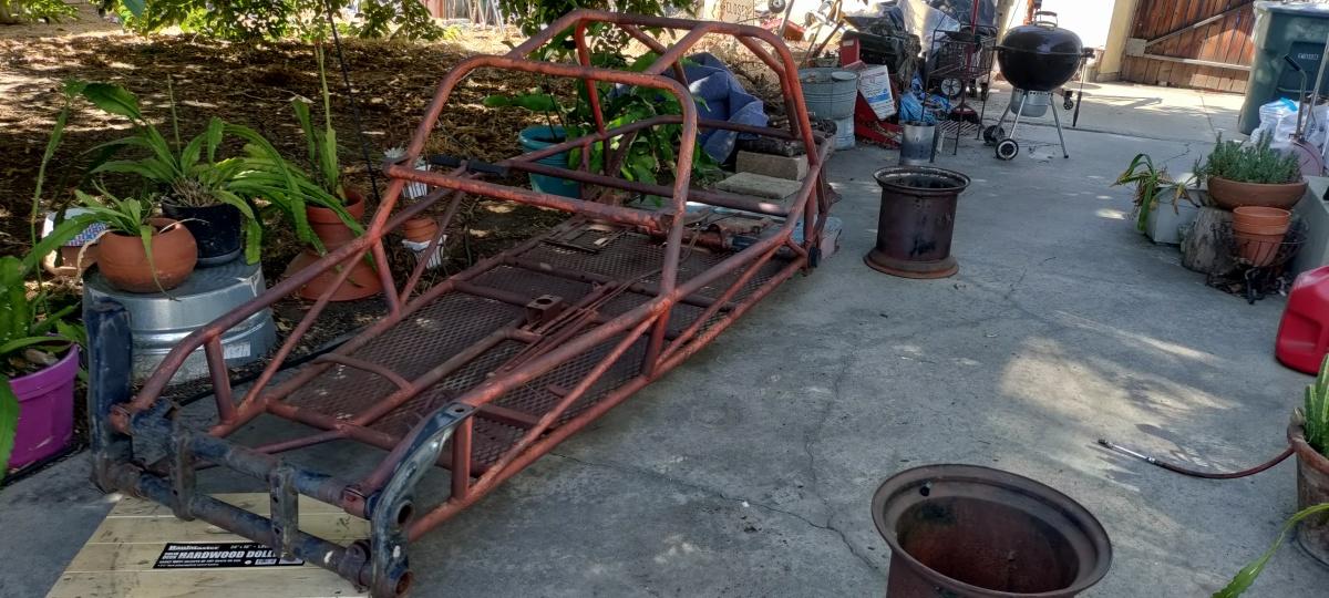 For Sale: SandHawk frame - photo0