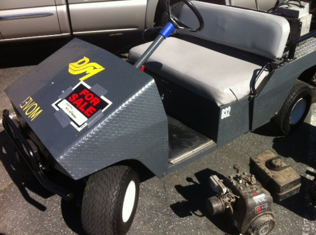 For Sale: 2-seat Golf/Utility Cart - photo0