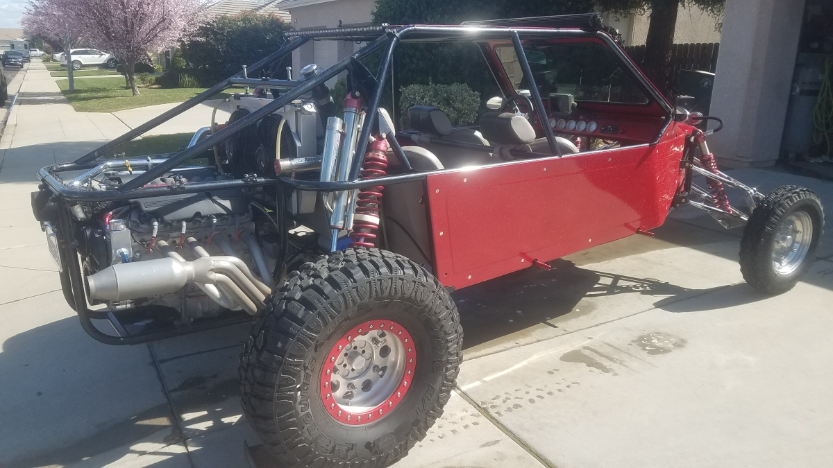 For Sale: 2006 Quick sand performance sandrail CA STREET LEGAL plates and ohv green sticker - photo10