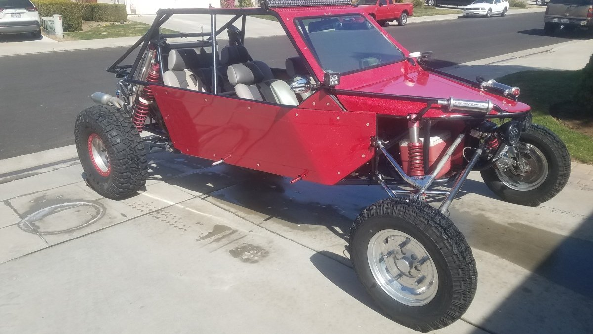 For Sale: 2006 Quick sand performance sandrail CA STREET LEGAL plates and ohv green sticker - photo0