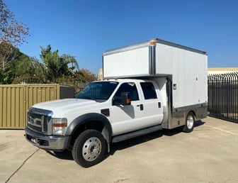 For Sale:2008 Ford F550 Crewcab 4x4