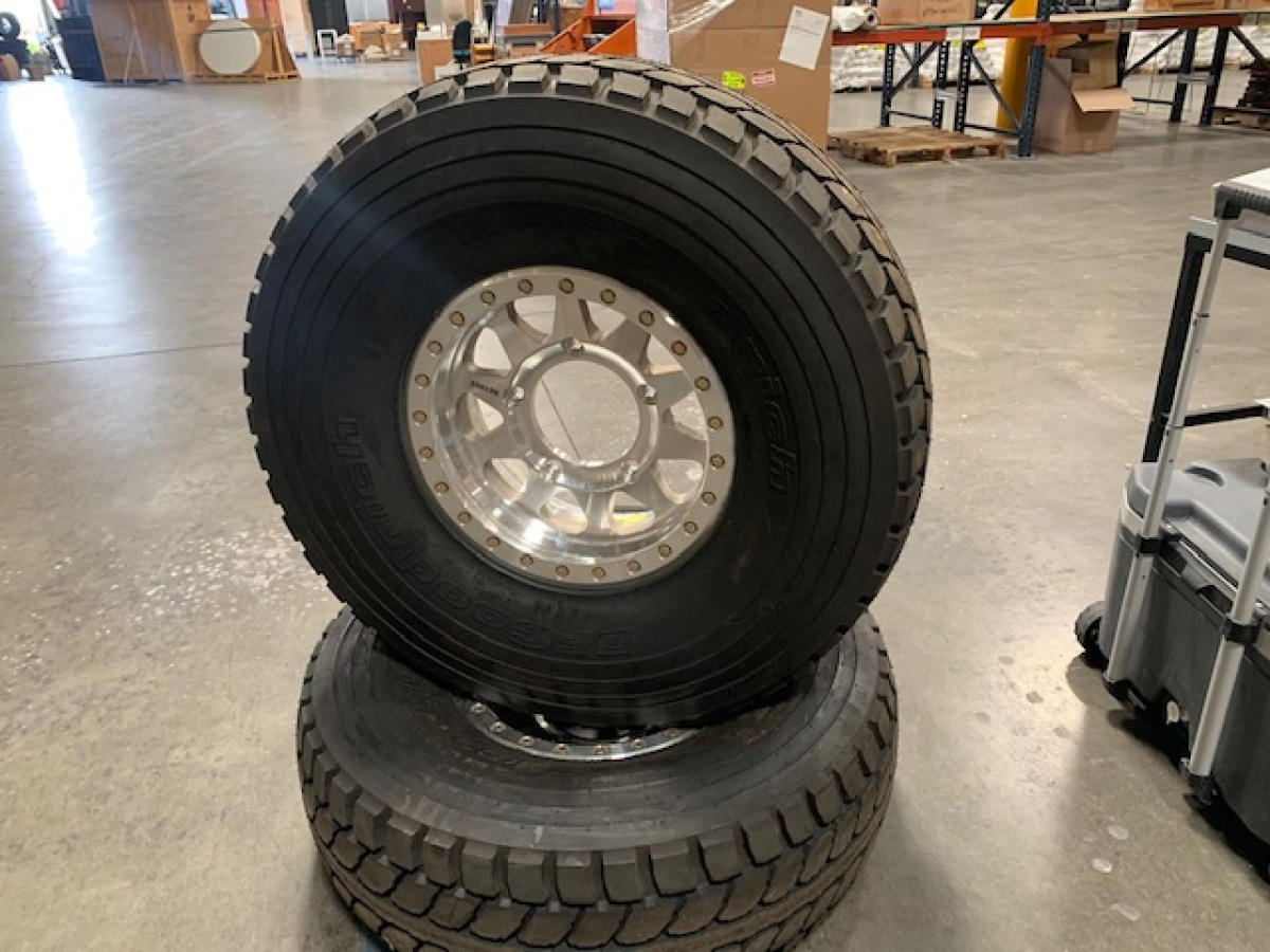 For Sale:  BRAND NEW TIRES AND WHEELS  BAJA T/A KR - photo0