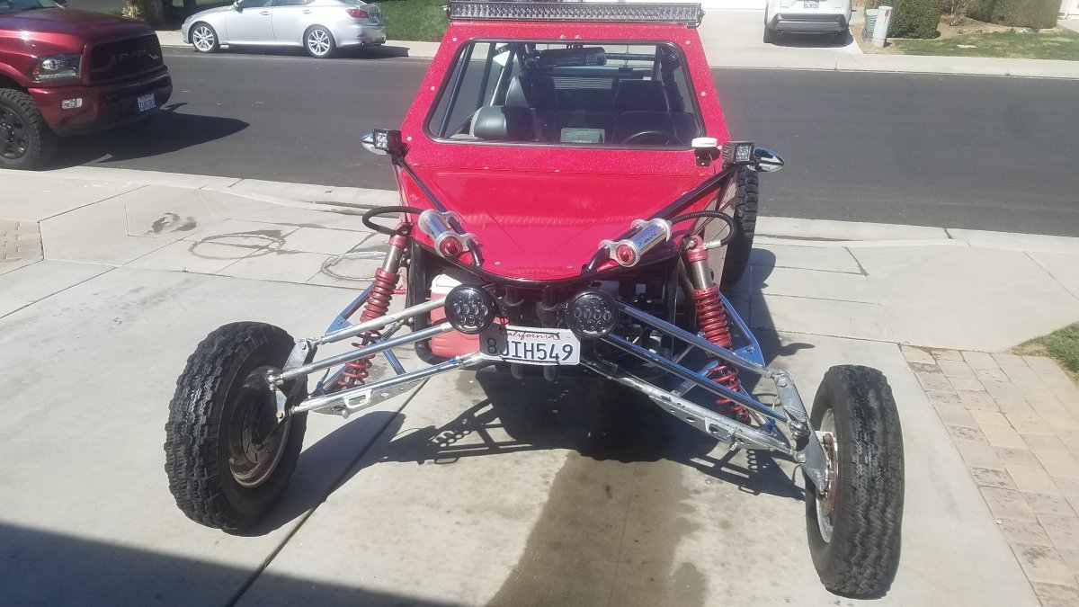 For Sale: 2006 Quick sand performance sandrail CA STREET LEGAL plates and ohv green sticker - photo11