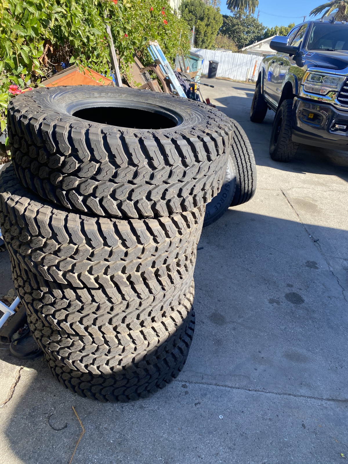 For Sale: SET OF 5 MAXXIS LIBERTY TIRES  - photo0