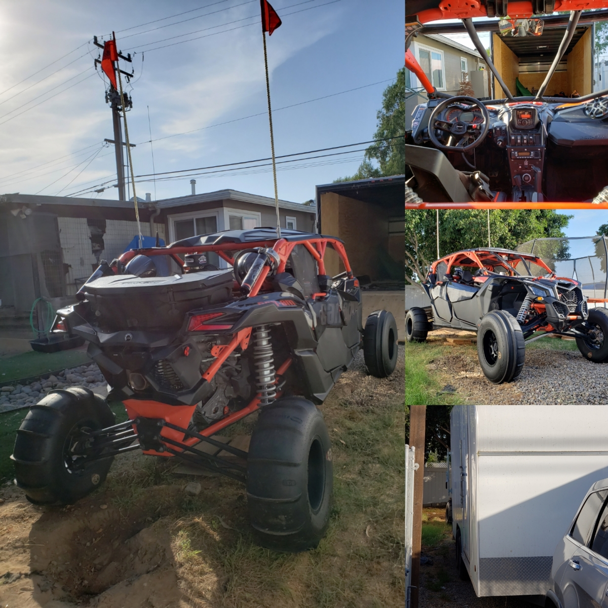 For Sale: badass 4 seater CAN-AM X3 & 20' enclosed trailer - photo0