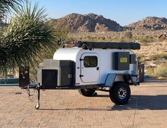 For Sale:Adventure Offroad Teardrop Trailer
