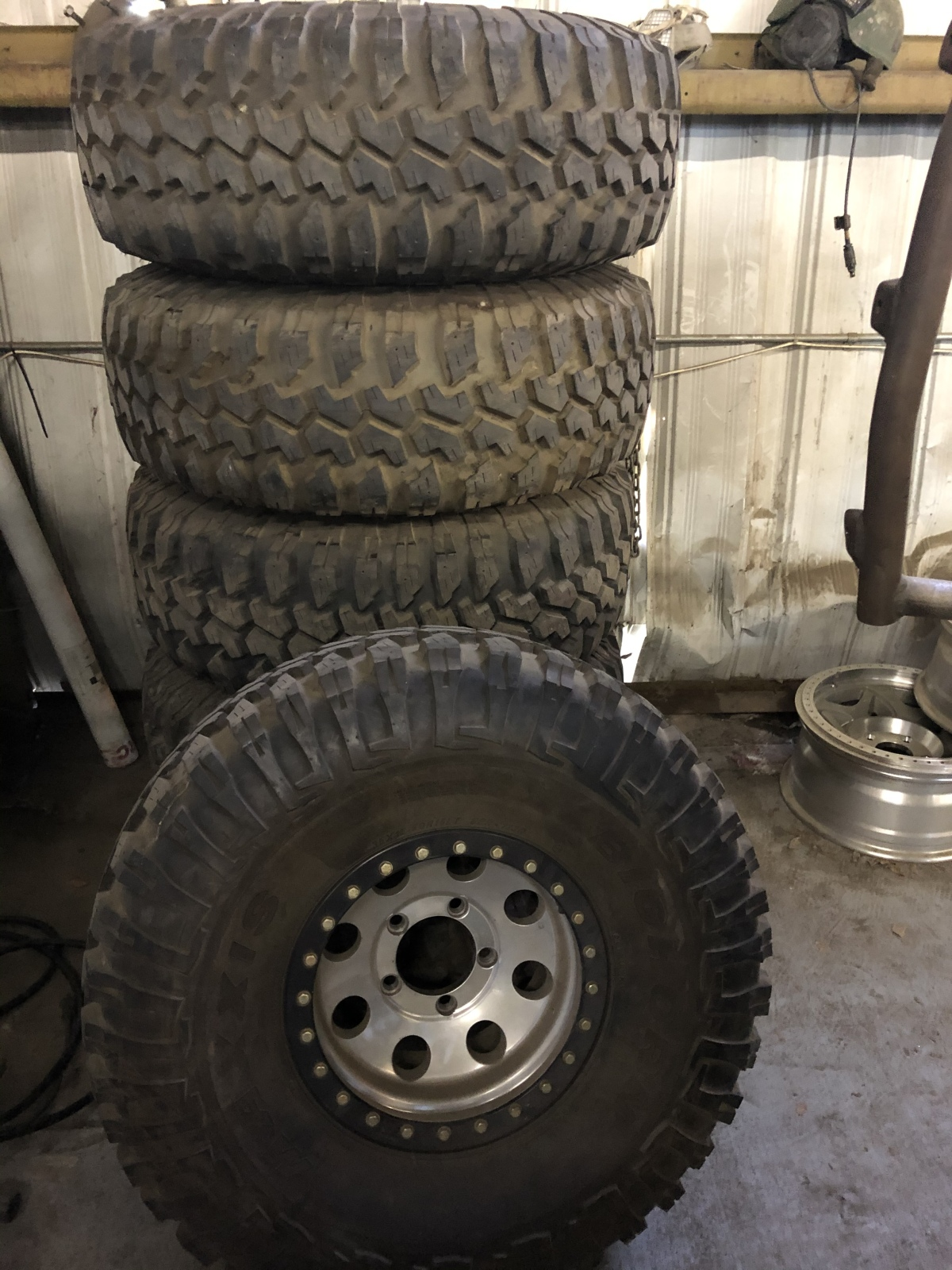 For Sale: 6 rims and tires 5x5.5  - photo0
