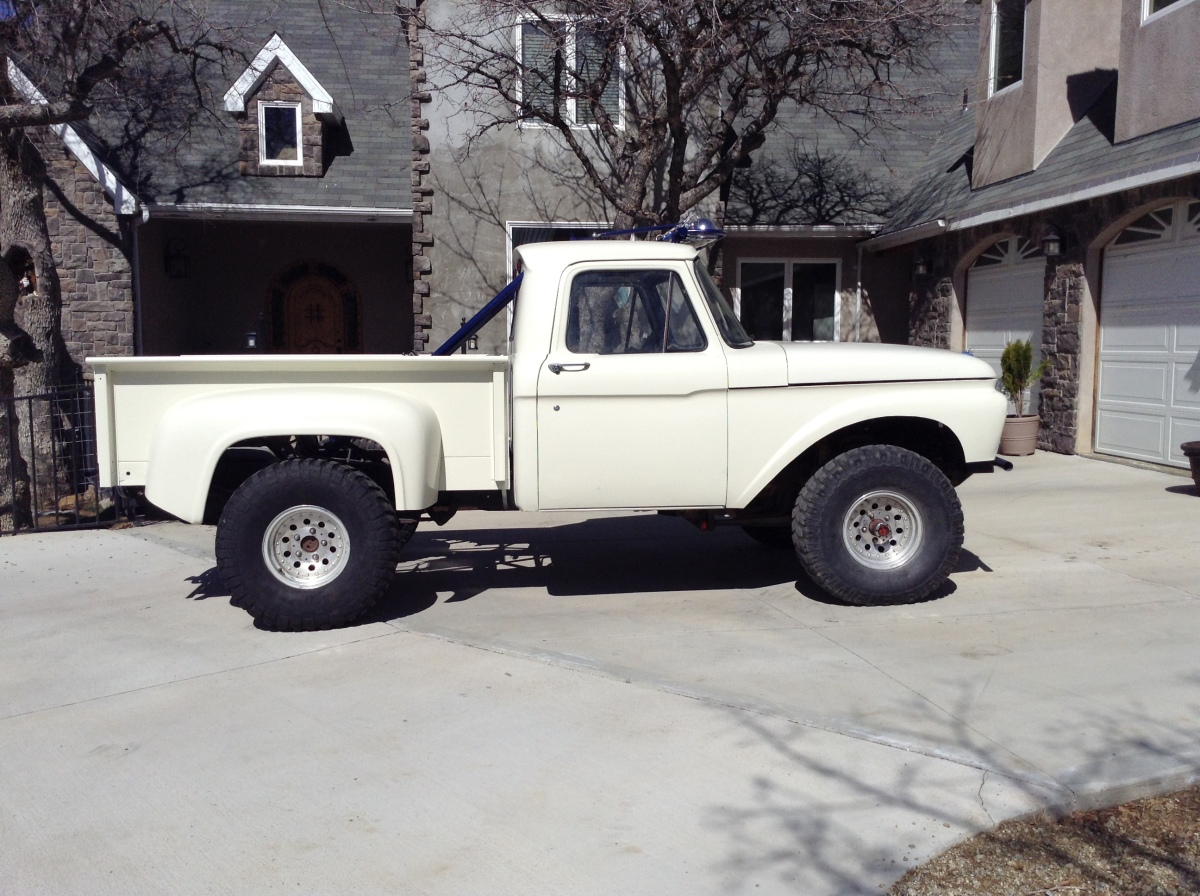 For Sale: '66 Ford F-100 4x4 - photo0