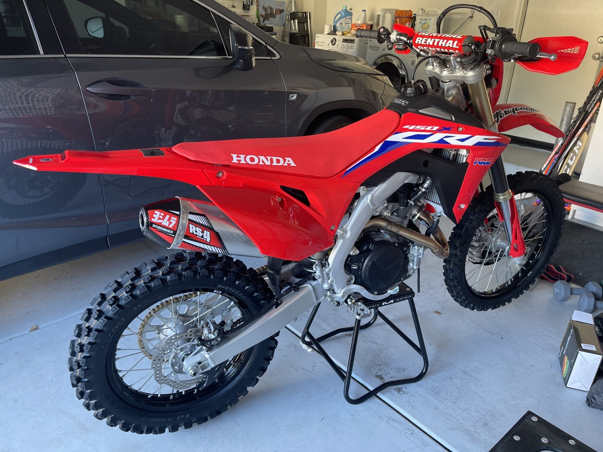 For Sale: 2021 crf450x  - photo0