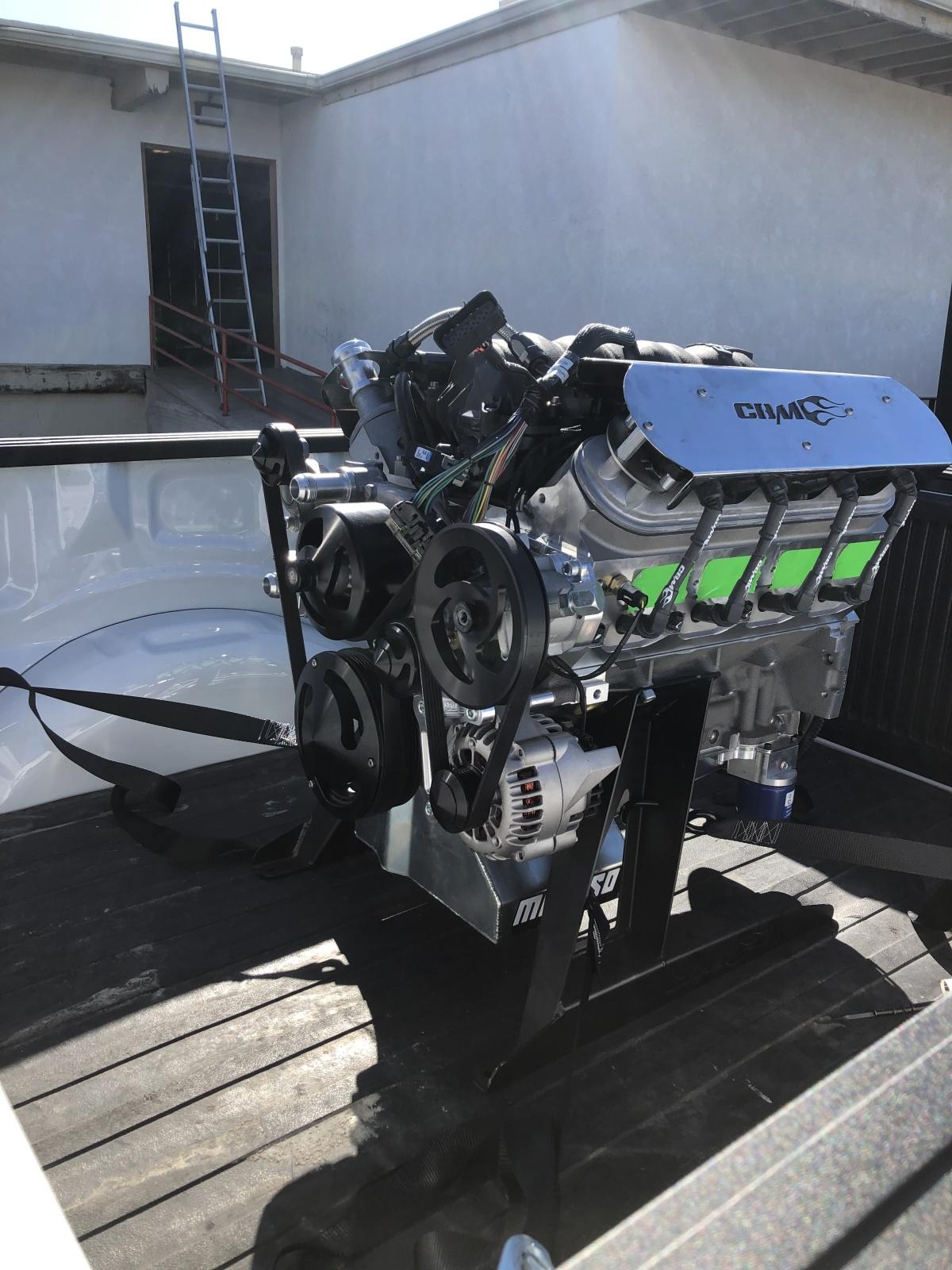 For Sale: *DEPOSIT TAKEN CBM 440 complete motor, harness & computer low hours - photo0