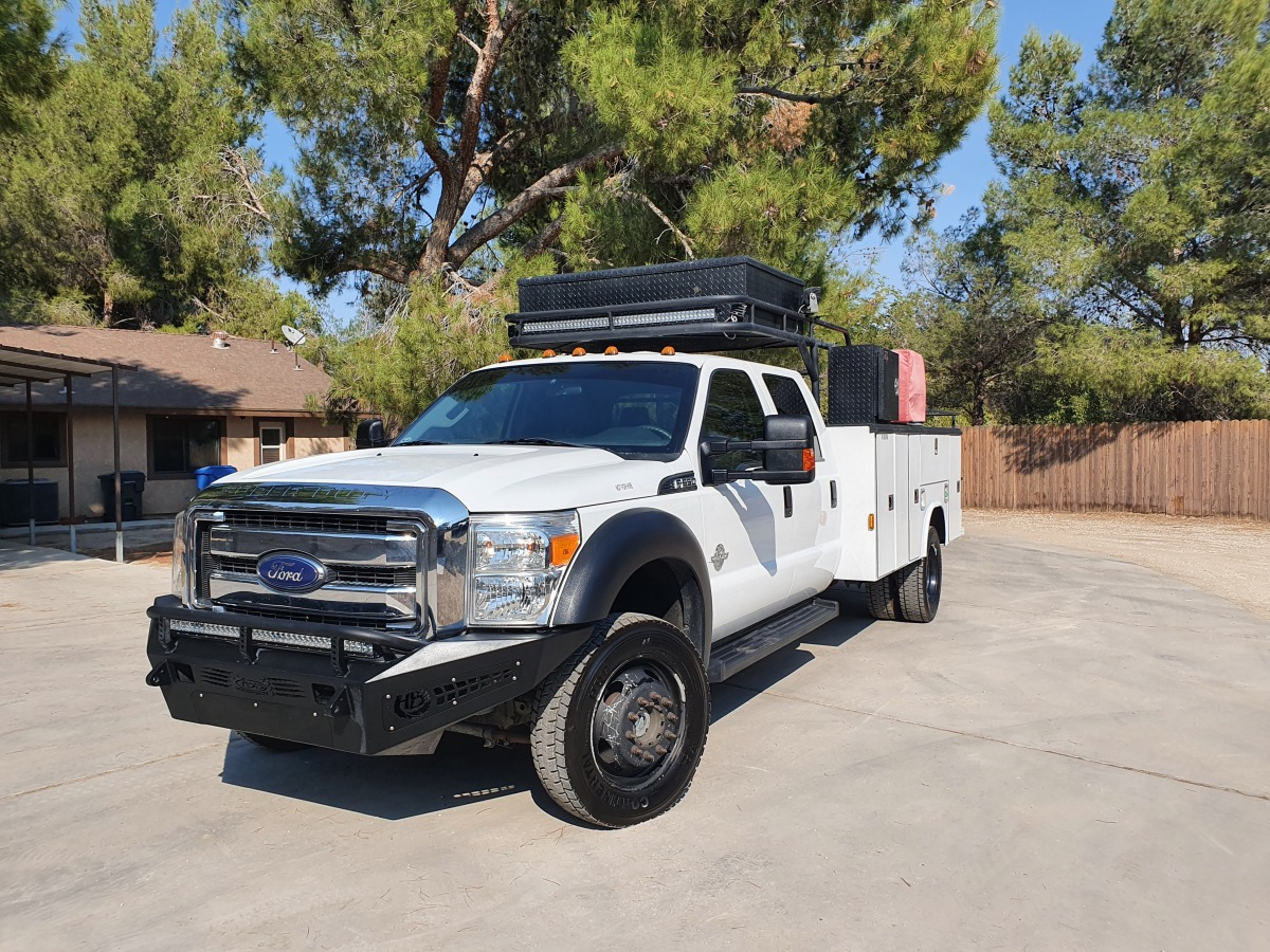 For Sale: 2015 Ford F-550 Crew Cab Chase Truck - photo25