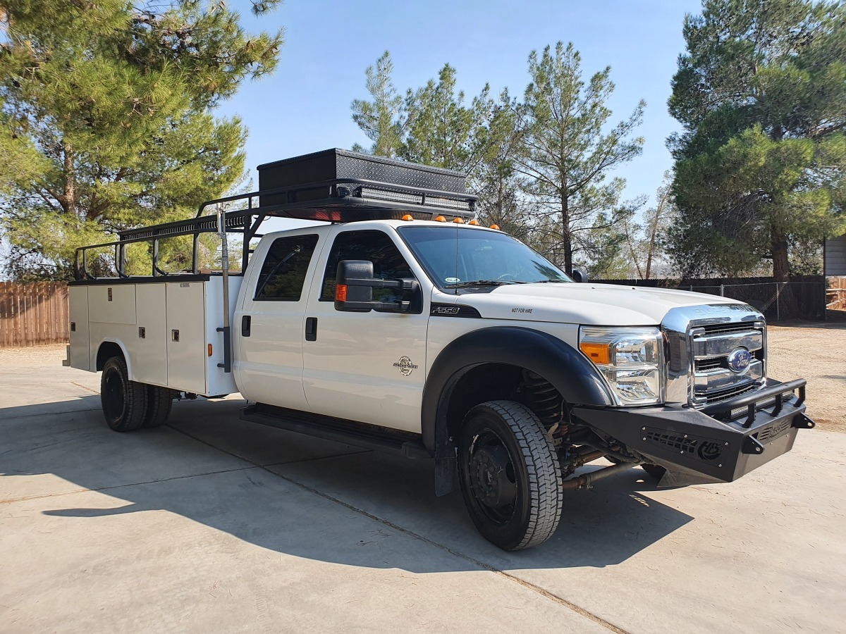 For Sale: 2015 Ford F-550 Crew Cab Chase Truck - photo21