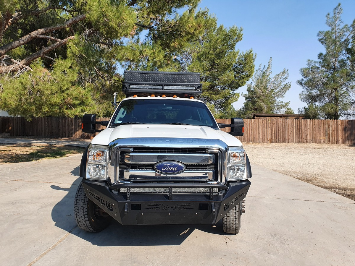 For Sale: 2015 Ford F-550 Crew Cab Chase Truck - photo24