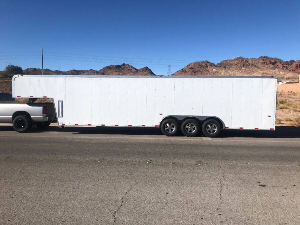 For Sale: 2009 Haulmark 38 foot gooseneck enclosed trailer - photo0