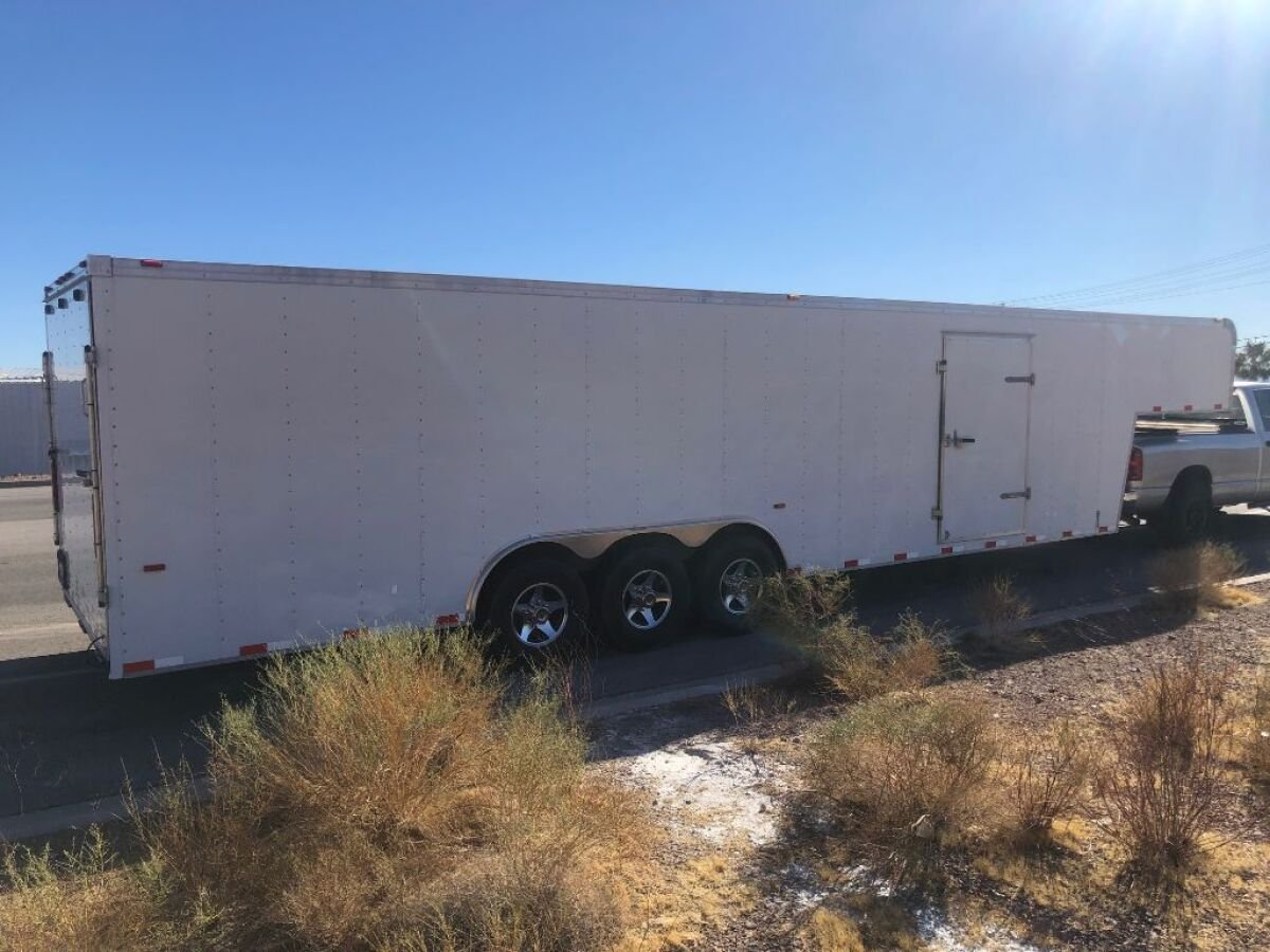 For Sale: 2009 Haulmark 38 foot gooseneck enclosed trailer - photo4
