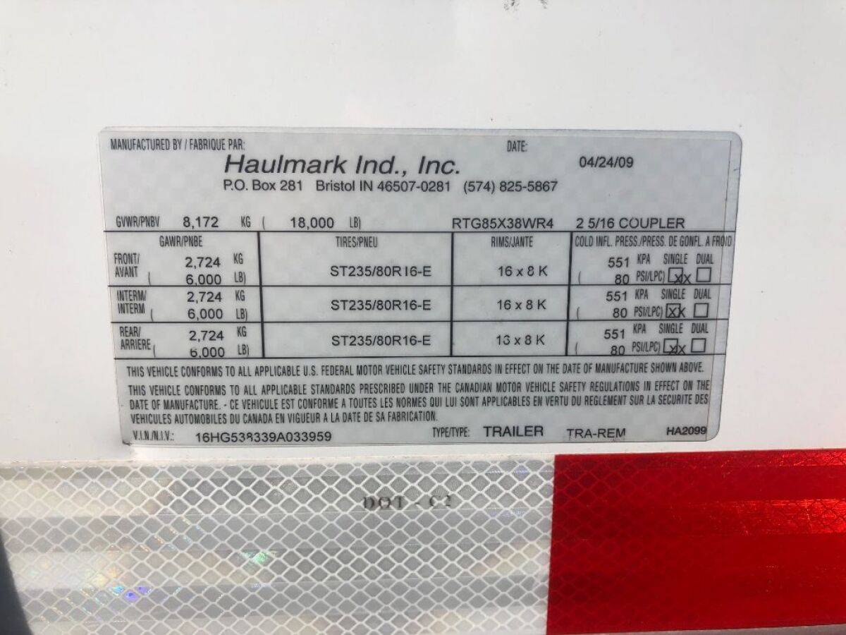 For Sale: 2009 Haulmark 38 foot gooseneck enclosed trailer - photo7