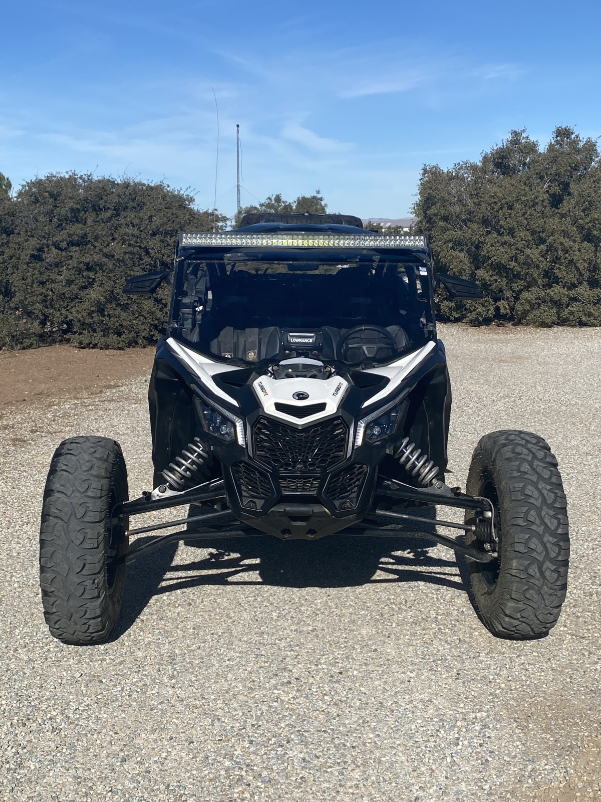 For Sale: Canam x3 with lonestar long travel kit low miles  - photo1