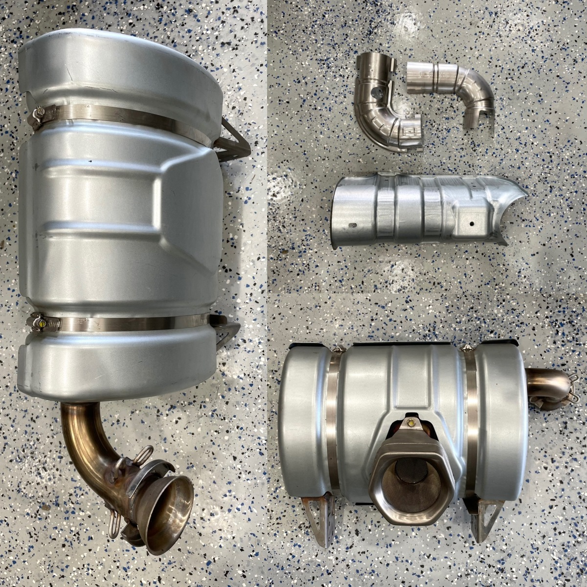 For Sale: New 2019 Can Am X3 Exhaust parts - photo0