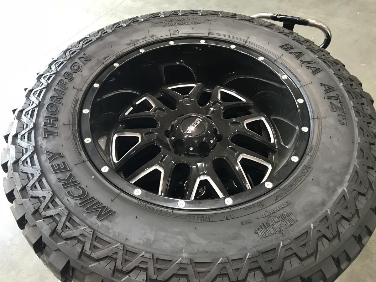 For Sale: 37x12.5x20 Mickey Thompson ATZ on Ultra Wheels - photo0