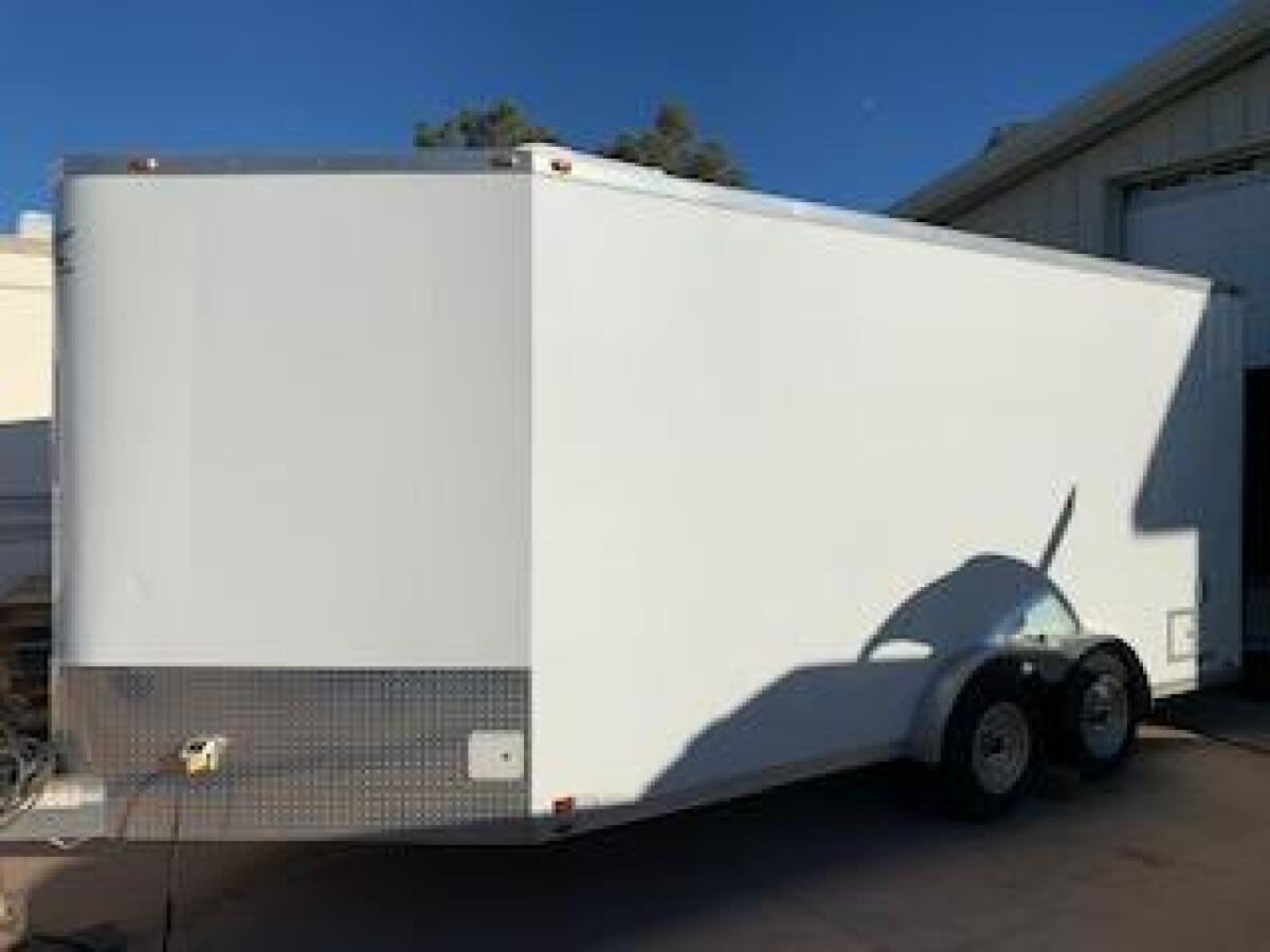 For Sale: ATC 20FT all aluminum enclosed trailer - photo0