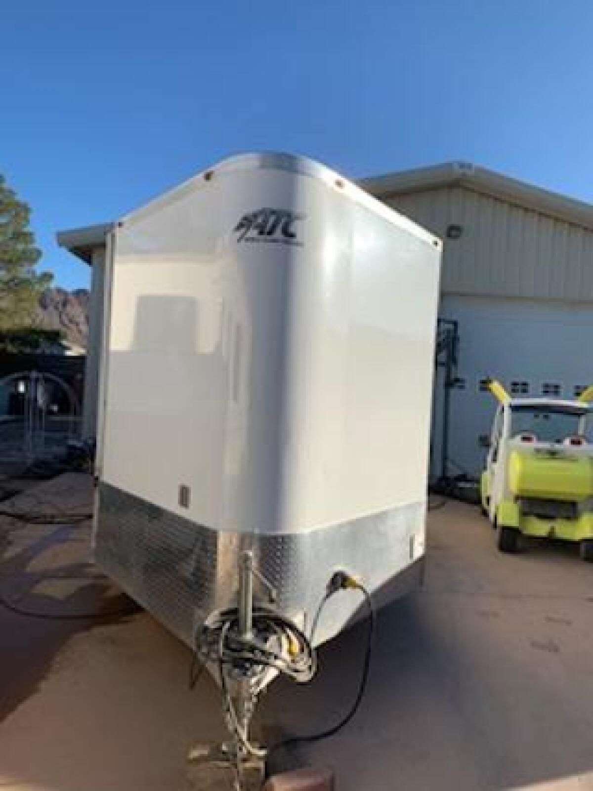 For Sale: ATC 20FT all aluminum enclosed trailer - photo3