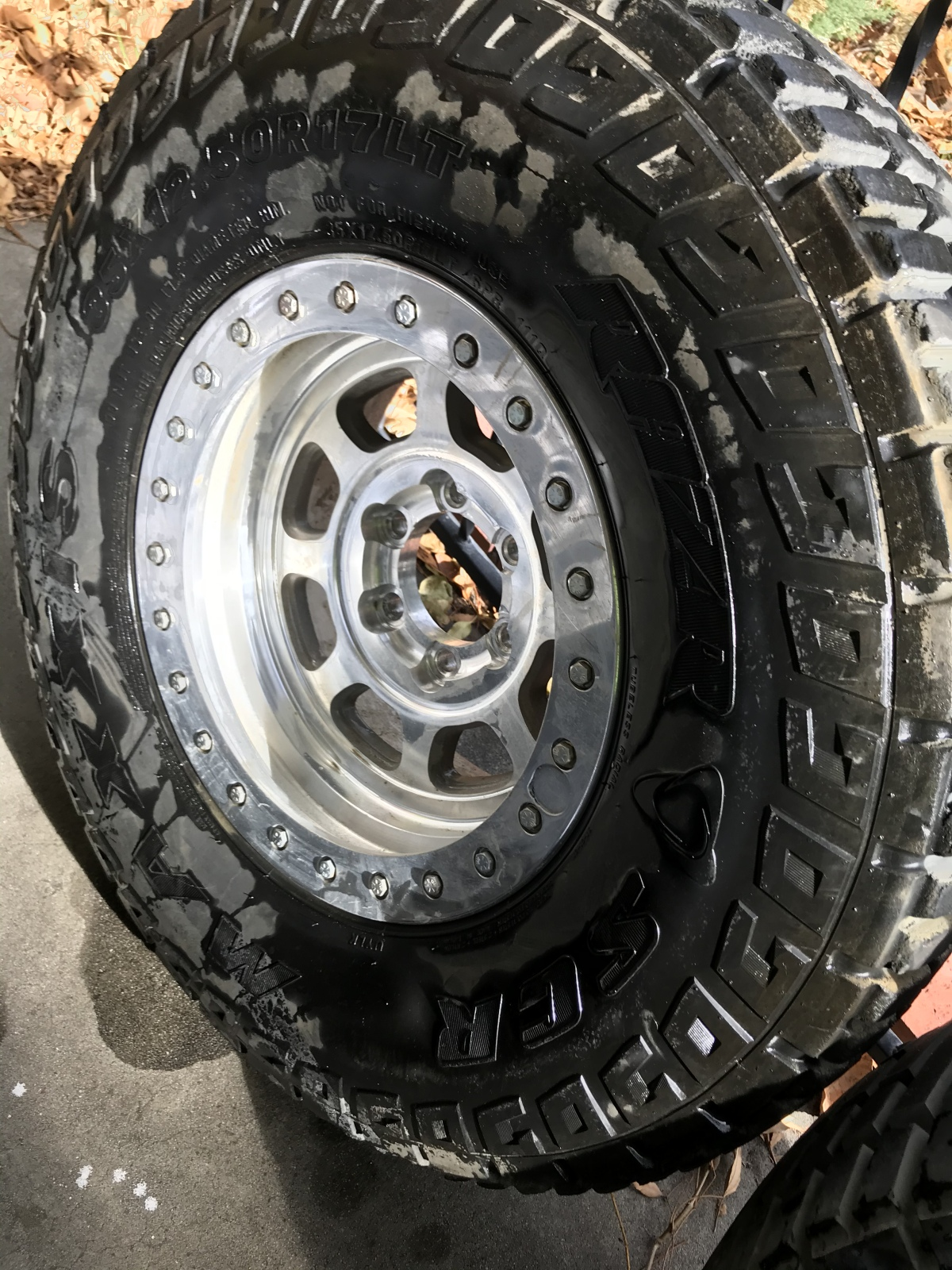 "For Sale: SOLD - Trail Ready Beadlocks (6 total) 17"" with 6 on 5.5 Bolt Pattern - photo2"