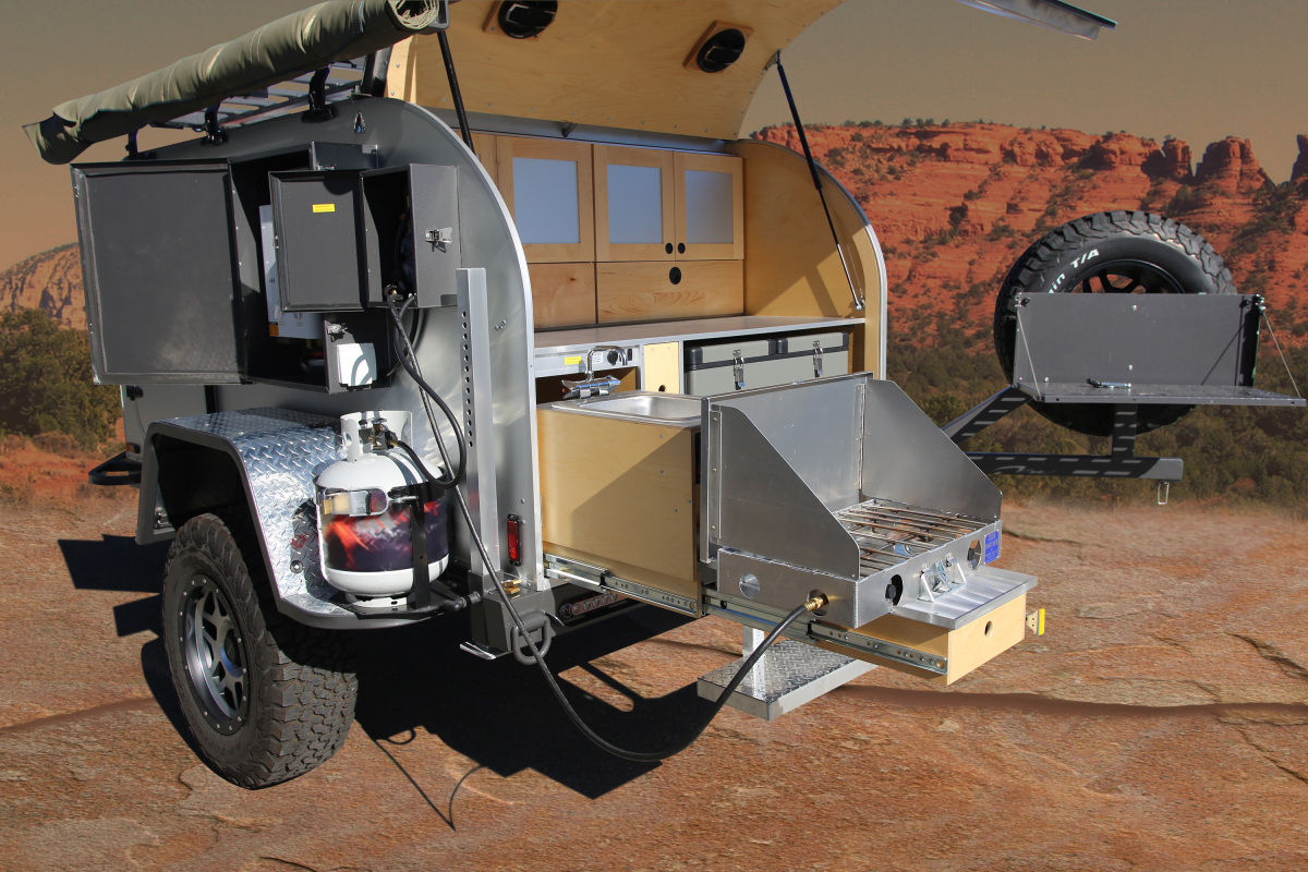 For Sale: Adventure Offroad Teardrop Trailer - photo4